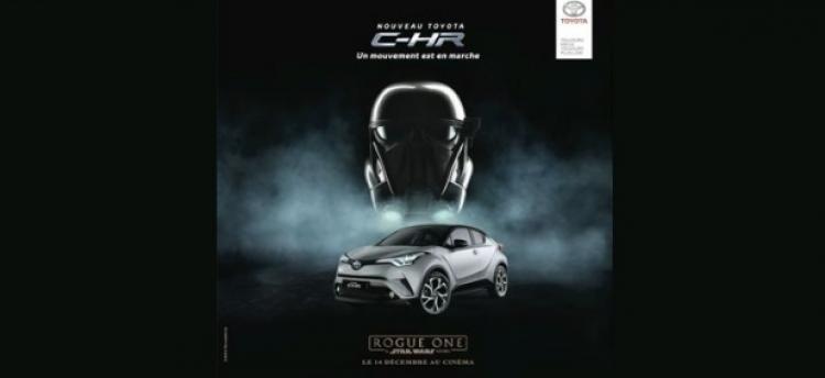 Toyota plonge son C-HR dans Star Wars