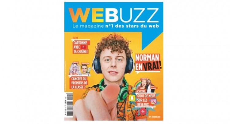 Le groupe Lagardère va lancer mercredi WeBuzz, un nouveau mensuel sur les stars du web destiné aux ados