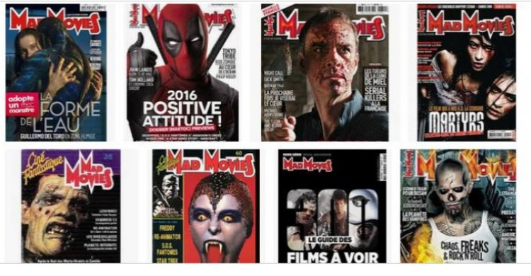 Crowdfunding : les projets du magazine Mad Movies