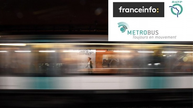 Metrobus va diffuser des informations de franceinfo à la station Concorde
