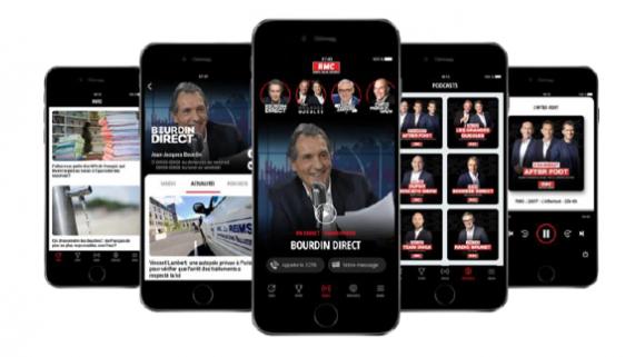 Une nouvelle application mobile pour RMC