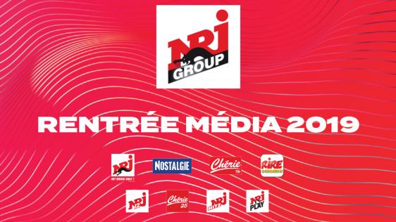 Les nouveautés de la saison 2019-2020 pour le groupe NRJ
