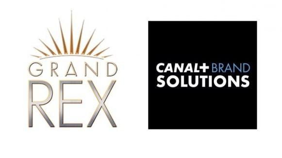 L'espace publicitaire du Grand Rex commercialisé par Canal+ Brand Solutions