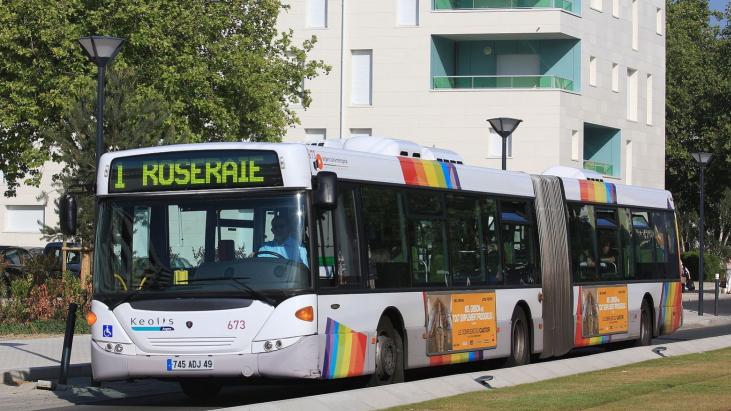 Metrobus reconduit à Angers