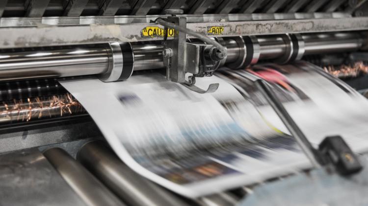 Infographie : les tendances de la diffusion de la presse par l'ACPM