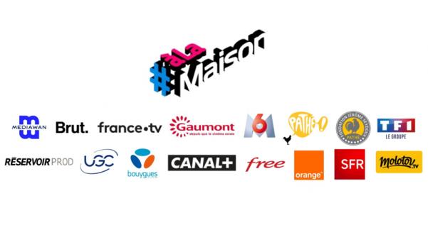 Mediawan lance aujourd'hui la chaîne éphémère #ALaMaison en partenariat avec plusieurs groupes audiovisuels et bouquets diffuseurs