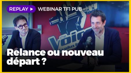 Replay : les clés de la relance pour TF1 Pub