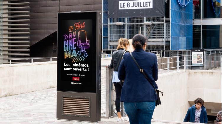 Clear Channel soutient le cinéma et accompagne la Fédération Nationale des Cinémas Français