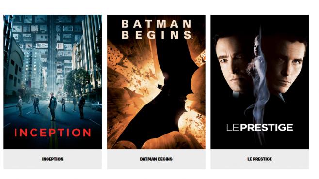 Fortnite : un évènement « cinéma », avec trois films de Christopher Nolan, diffusés en intégralité