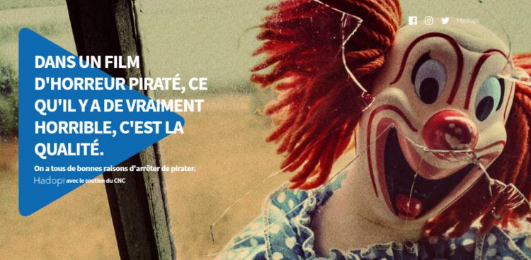 Hadopi-CNC : une campagne contre le piratage en ligne